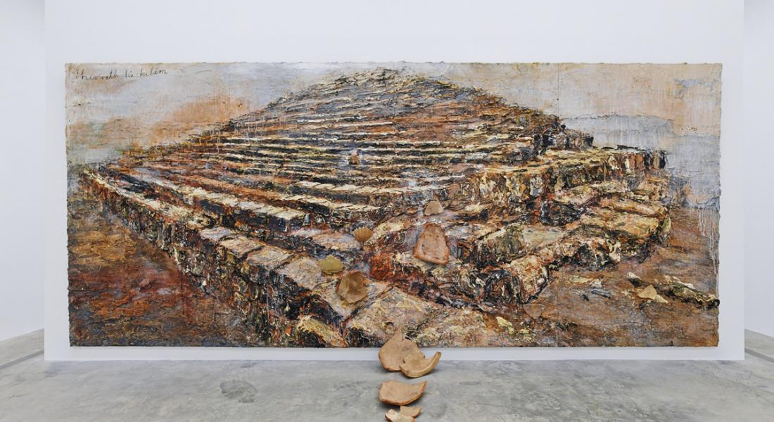 PLANTA | Kiefer Pavilion | Three monumental paintings by Anselm Kiefer: